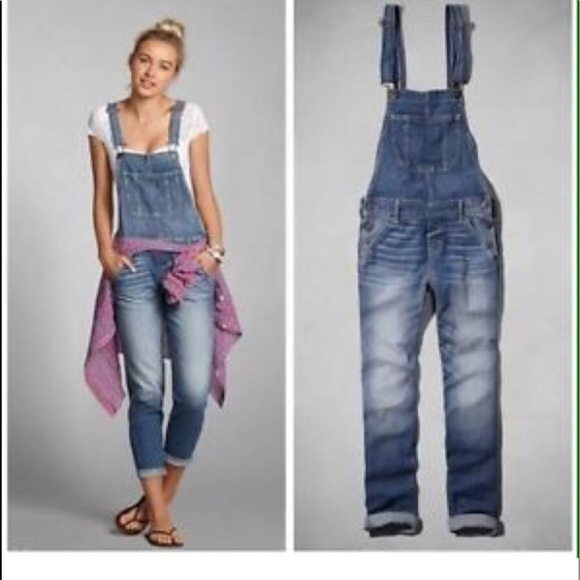 d143943ac5c8 abercrombie   fitch Denim - Abercrombie   Fitch jean overalls